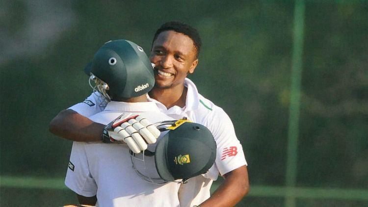 Omphile Ramela Omphile Ramela ton puts SA A in driver39s seat Cricket