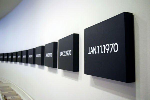 On Kawara On Kawara39s Digital Wisdom at the Guggenheim artnet News