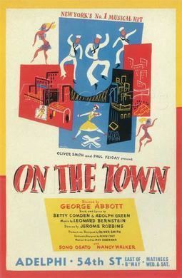 On the Town (musical) On the Town musical Wikipedia