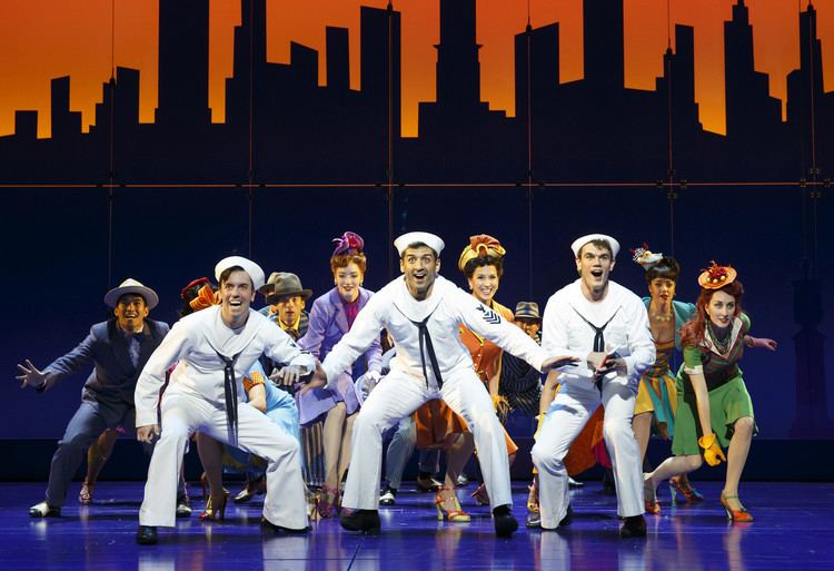On the Town (musical) On the Town39 revival earns raves on Broadway LA Times