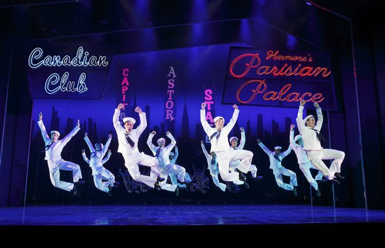 On the Town (musical) Review of On the Town Broadway