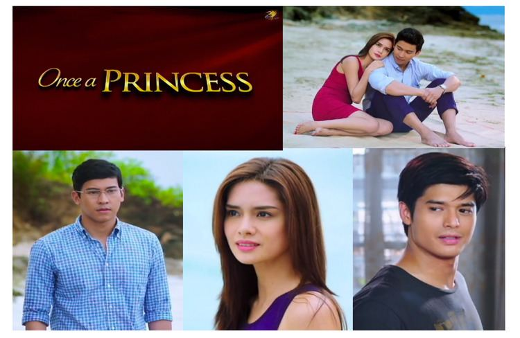 Once a Princess Enchong Dee JC De Vera and Erich Gonzales in Once A Princess 2014