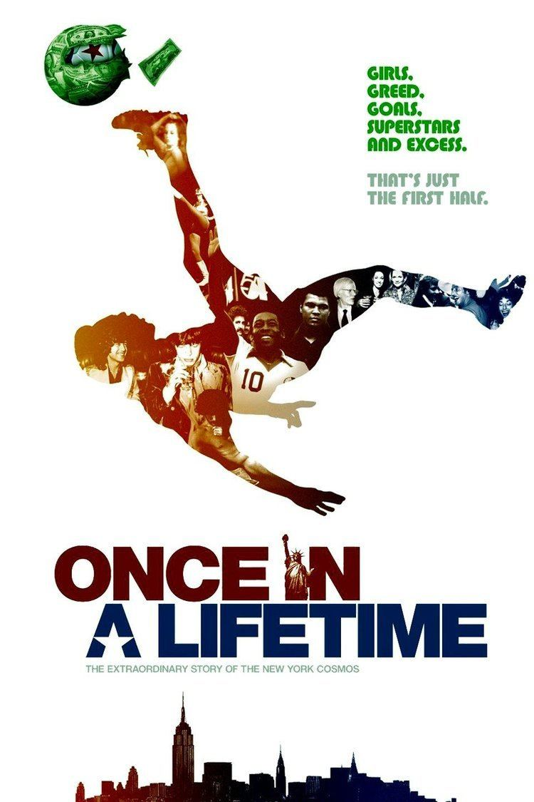 Once in a Lifetime: The Extraordinary Story of the New York Cosmos wwwgstaticcomtvthumbmovieposters161729p1617