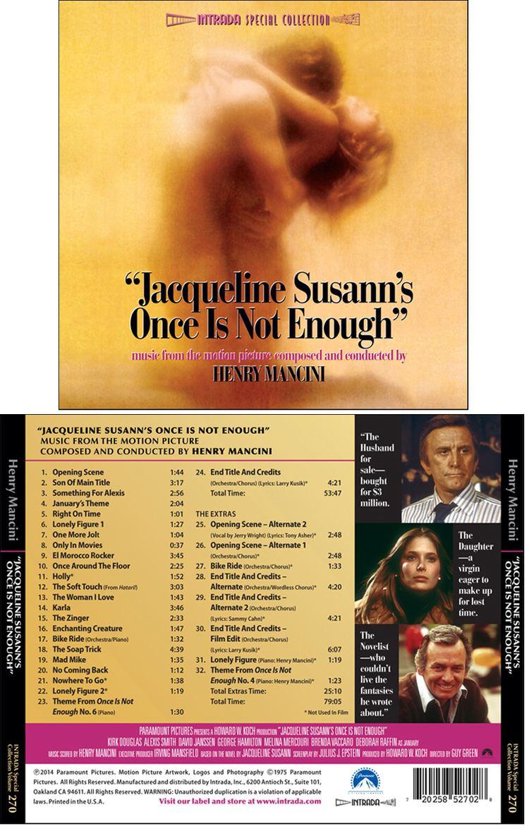 Jacqueline Susann's Once Is Not Enough (film) Jacqueline Susanns Once Is Not Enough Soundtrack details
