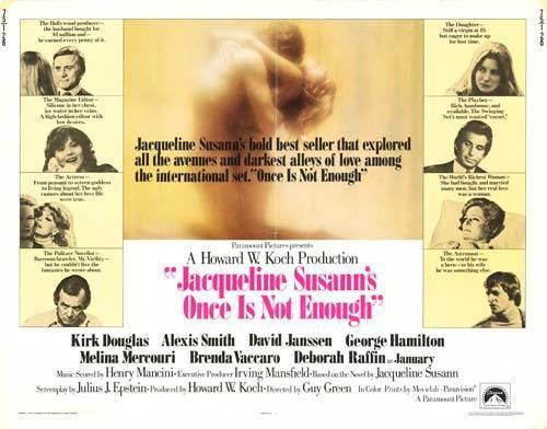 Jacqueline Susann's Once Is Not Enough (film) Jacqueline Susanns Once is Not Enough movie posters at movie poster