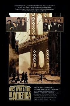 Once Upon a Time in America movie poster
