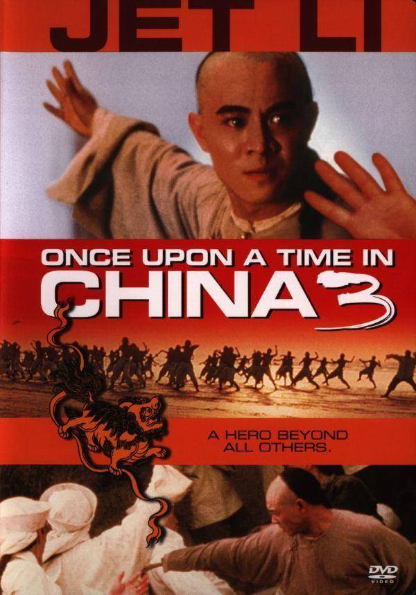 Once Upon a Time in China III Hong Kong Fanatic Jet Li