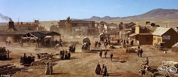 Once Upon a Time in the East (2011 film) movie scenes Movie set The site can be seen in the 1969 film Once Upon A Time