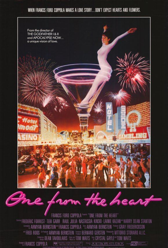 One from the Heart One From the Heart to Francis Ford Coppola Blog The Film Experience