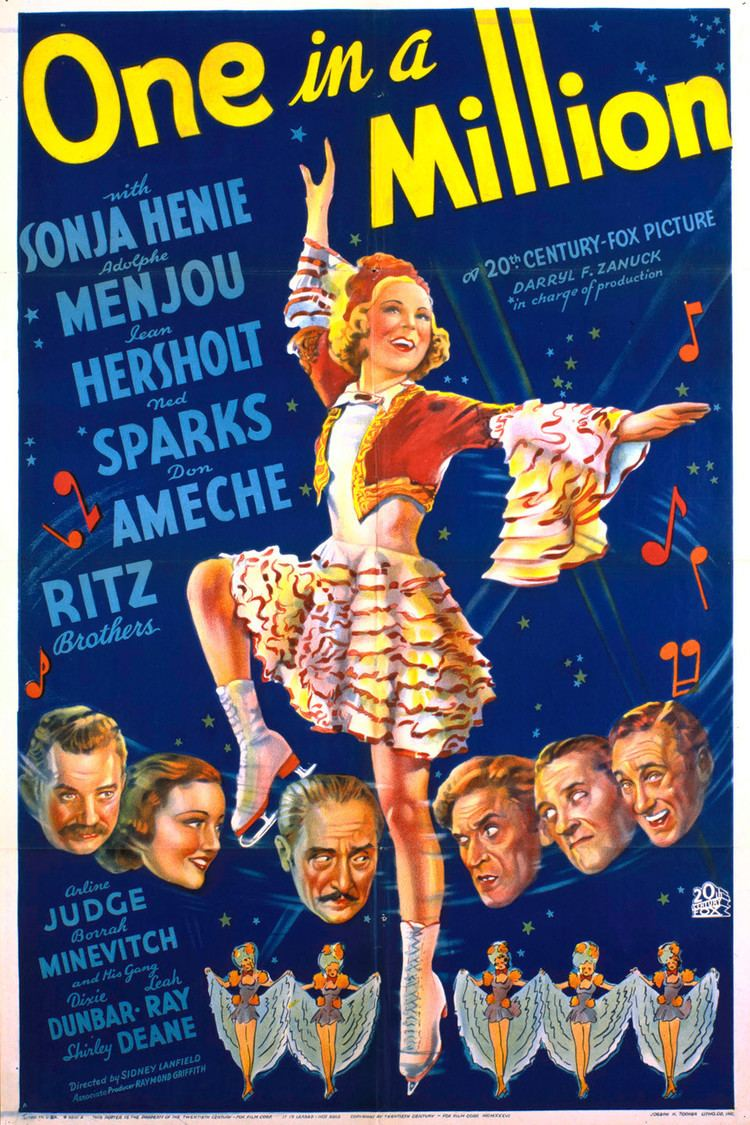 One in a Million (1936 film) wwwgstaticcomtvthumbmovieposters5570p5570p