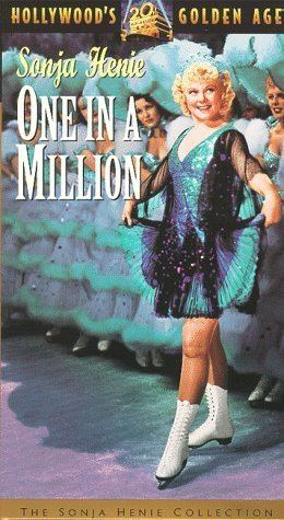 One in a Million (1936 film) Amazoncom One in a Million VHS Sonja Henie Adolphe Menjou