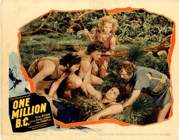 One Million B.C. Confessions of a Film Philistine One Million BC 1940