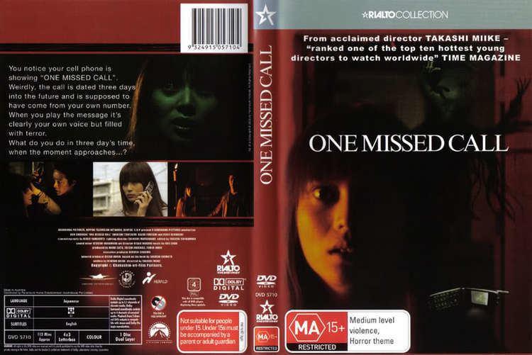One Missed Call (2003 film) One Missed Call 2003 720p HDTV Dhaka Movie