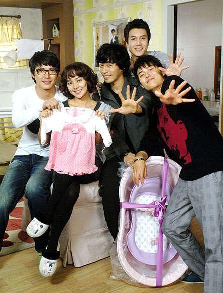 One Mom and Three Dads Three Dads One Mom Dramabeans Korean drama episode recaps