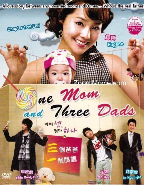 One Mom and Three Dads One Mom And Three Dads DVD Korean TV Drama Cast by Eugene amp Jo