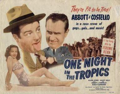 One Night in the Tropics One Night In The Tropics poster Hey Abbott Pinterest