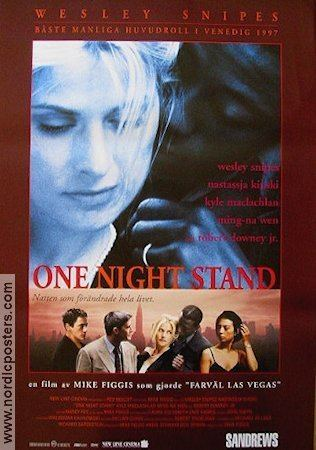 One Night Stand (1997 film) One Night Stand poster 1997 Wesley Snipes director Mike Figgis original