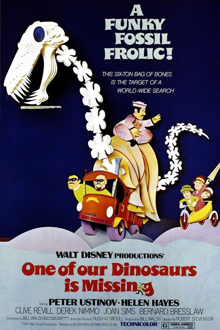 One of Our Dinosaurs Is Missing wwwgstaticcomtvthumbmovieposters10166p10166