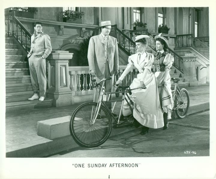 One Sunday Afternoon (1948 film) Musical Monday One Sunday Afternoon 1948 Comet Over Hollywood