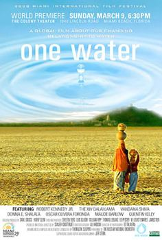 One Water movie poster