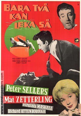 Only Two Can Play Only Two Can Play poster 1962 Peter Sellers original