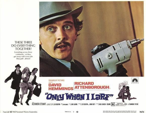 Only When I Larf (film) Forgotten Films Only When I Larf 1968 Technicolor Dreams