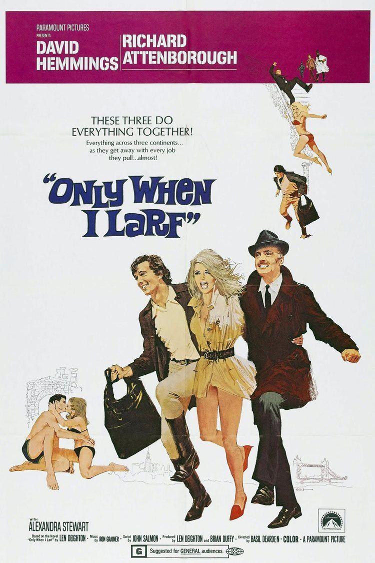 Only When I Larf (film) wwwgstaticcomtvthumbmovieposters9477p9477p