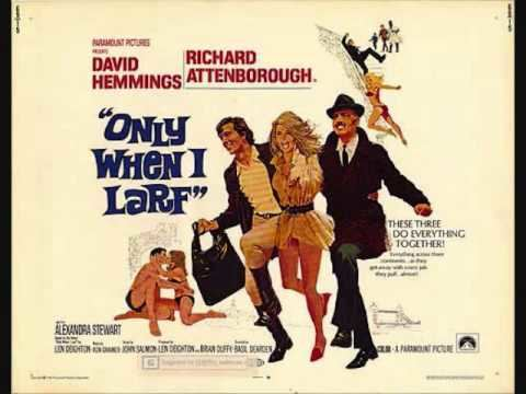 Only When I Larf (film) Ron Grainer Love Theme from Only When I Larf 1968 YouTube