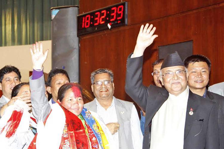 Onsari Gharti Magar Onsari first woman Speaker in Nepal39s history The