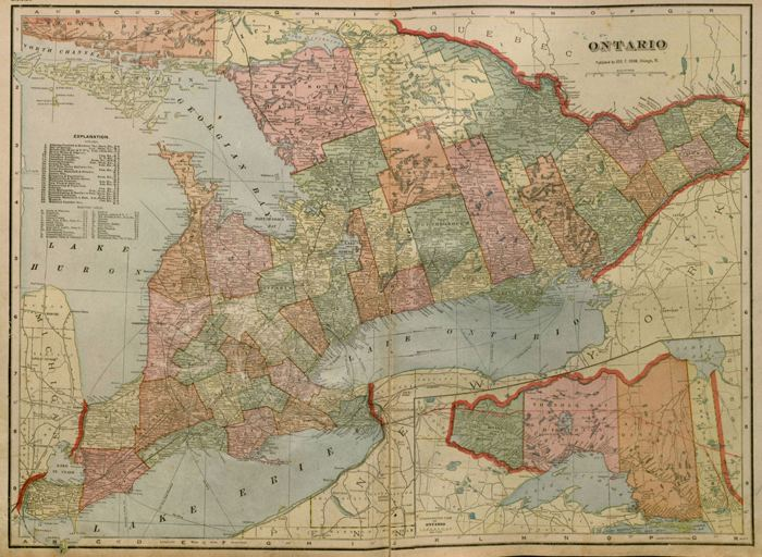 Ontario in the past, History of Ontario