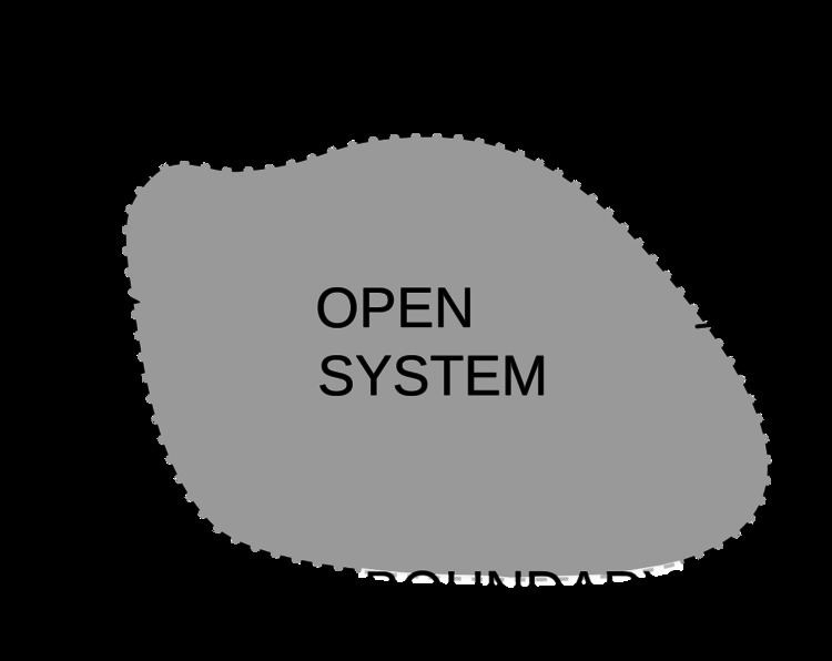Open system (systems theory)