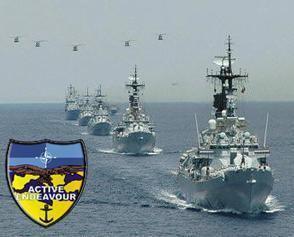 Bundesmarine Anstecknadel Pin Task Group 500.02 Operation Active Endeavour