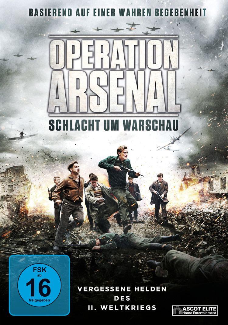 Operation Arsenal Operation Arsenal Schlacht um Warschau Film 2014 FILMSTARTSde