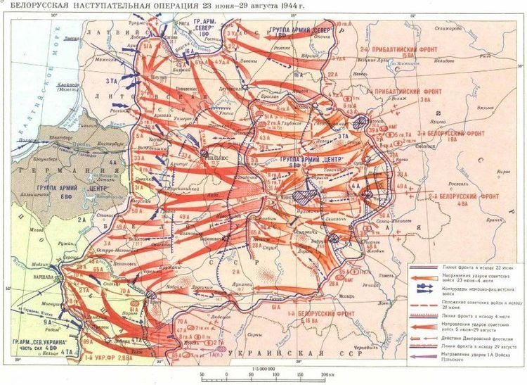 Operation Bagration Operation Bagration the strategic offensive of the summer 1944