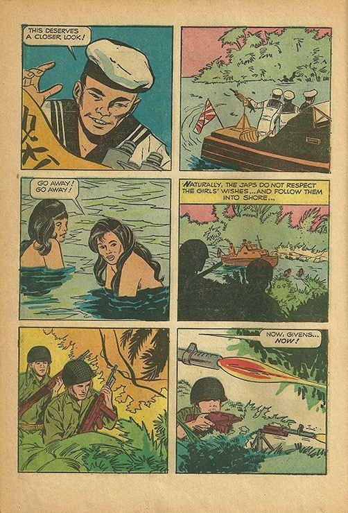 Operation Bikini mrPevneycom 1963 Operation Bikini Comic