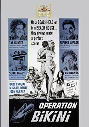 Operation Bikini Amazoncom Operation Bikini Tab Hunter Scott Brady Frankie