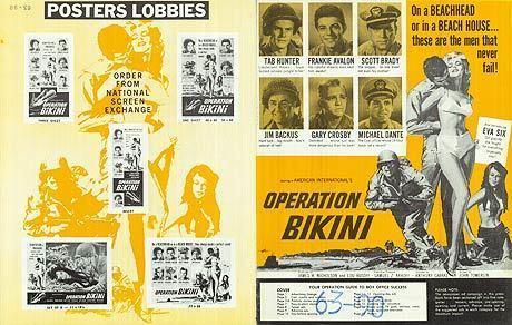 Operation Bikini Operation Bikini movie posters at movie poster warehouse moviepostercom