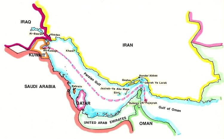 Operation Earnest Will JDR Military Service Persian Gulf Operations