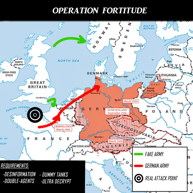 Operation Fortitude Operation Fortitude Stephen Ambrose Historical Tours