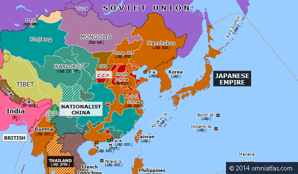 Operation Ichi-Go Operation IchiGo Historical Atlas of East Asia 4 December 1944