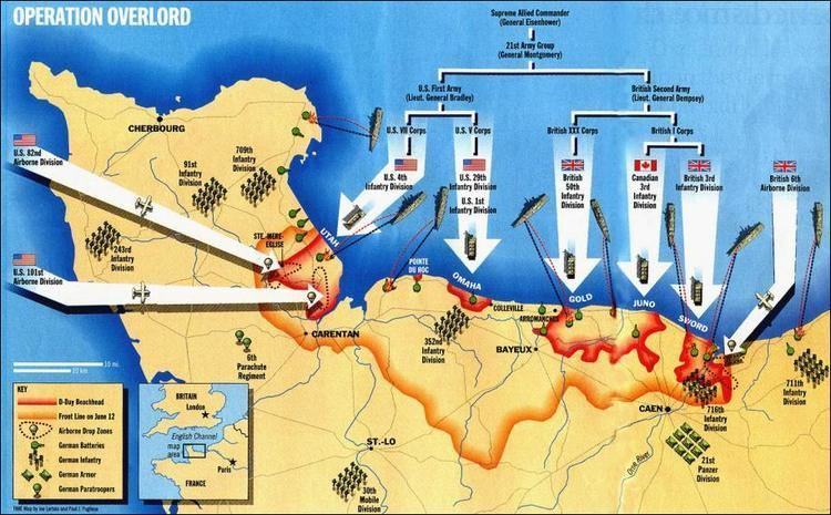 Operation Overlord Battle of Normandy The Canadian Encyclopedia