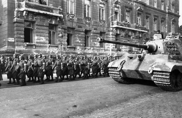 Operation Panzerfaust Panzer DB on Twitter quotBudapest October 1944 operation Panzerfaust