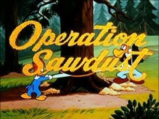 Operation Sawdust movie poster