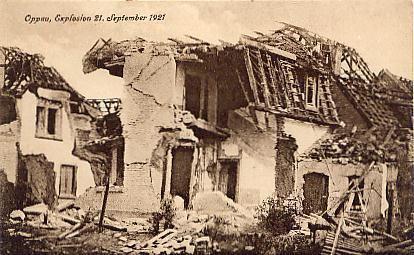 Oppau explosion 1921 Deutschland Oppau Explosion ungelaufen MAShops