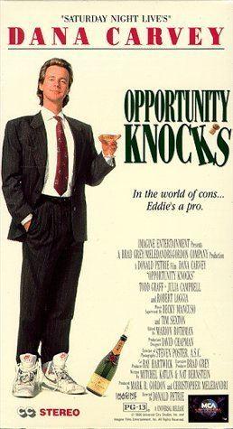 Opportunity Knocks (film) Amazoncom Opportunity Knocks VHS Dana Carvey Robert Loggia