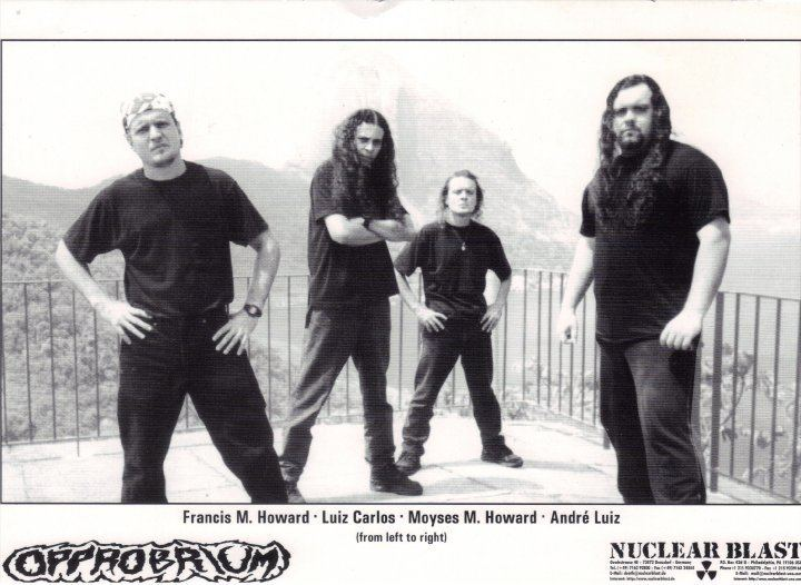 Opprobrium (band) Interview with Moyses M Howard Opprobrium Tough RiffsMagazine