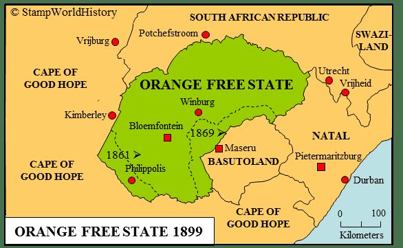 Orange Free State Orange Free State Stamps and postal history StampWorldHistory