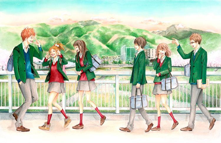 Orange (manga) Currently Reading Orange Manga by Ichigo Takano I Write What I