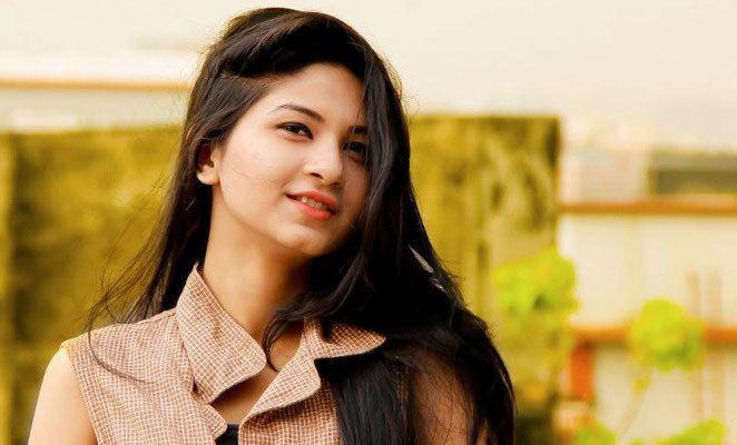 Bangladeshi actress Orchita Sporshia