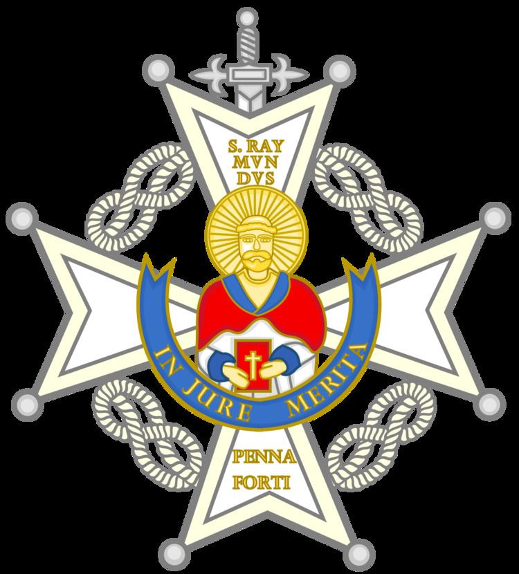Cruz Sencilla Orden San Raimundo de Peñafort
